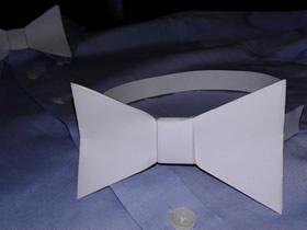 怎么做纸领结的手工制作方法教程