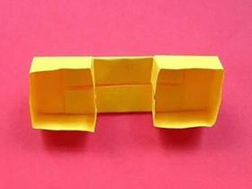 怎么简单折纸电话话筒的折法图解教程