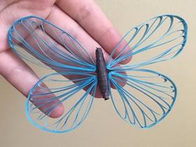 手工衍纸蝴蝶怎么做的图解教程