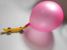 怎么做气球吹气动力小车的制作方法教程