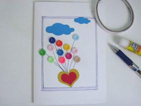 怎么简单做教师节爱心贺卡的手工制作方法
