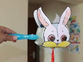塑料月饼盒怎么废物利用 手工制作中秋兔子灯