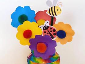 怎么做教师节花瓶礼物的手工制作方法教程