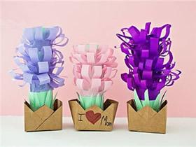 怎么简单做风信子盆栽摆饰的制作方法