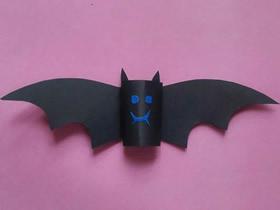 幼儿园怎么做万圣节蝙蝠的手工制作教程
