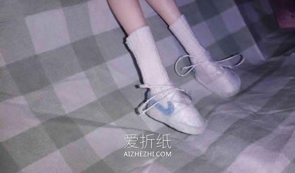怎么做芭比娃娃鞋子的布艺手工制作教程- www.aizhezhi.com