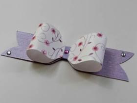 怎么用卡纸做礼品盒装饰蝴蝶结的制作方法