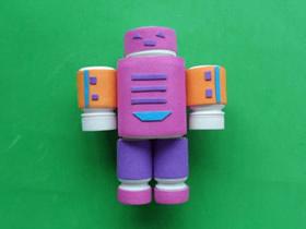怎么做药瓶机器人的手工制作方法教程