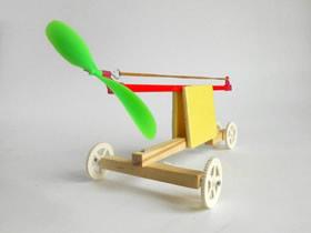 怎么自制橡皮泥动力车玩具的制作教程