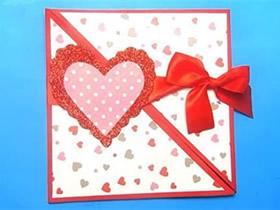 怎么做教师节创意爱心贺卡的制作方法步骤