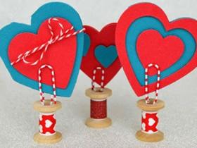 怎么做教师节心形卡片礼物的制作方法教程