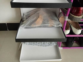 怎么用鞋盒做简易鞋架的制作方法教程