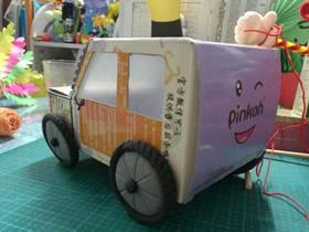 怎么简单做纸盒小车的制作方法步骤图解