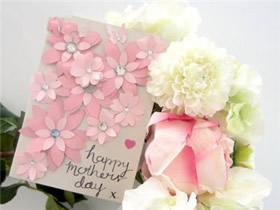 怎么做母亲节立体樱花贺卡的手工制作方法