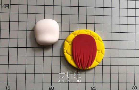 怎么做粘土工作细胞红血球女生的制作方法- www.aizhezhi.com