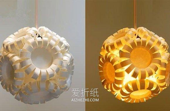 小学生做的新年贺卡_怎么做中秋华丽纸杯灯笼的手工制作方法_爱折纸网
