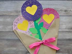 怎么做情人节/母亲节花束礼物的制作方法