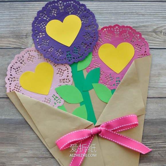 布娃娃花束怎么做_怎么做情人节/母亲节花束礼物的制作方法_爱折纸网