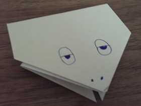幼儿园简单小青蛙怎么折叠的图解教程
