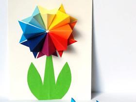 怎么做母亲节康乃馨立体贺卡的手工制作方法