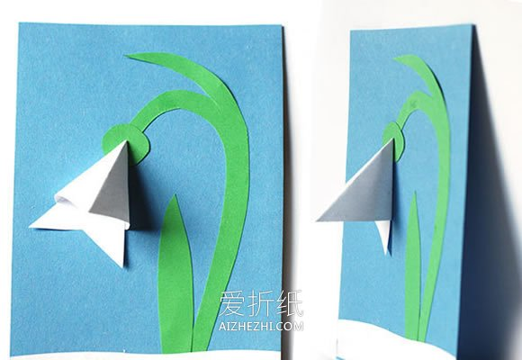 怎么做母亲节康乃馨立体贺卡的手工制作方法- www.aizhezhi.com