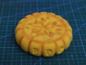 怎么做超轻粘土圆月饼的手工制作图解教程