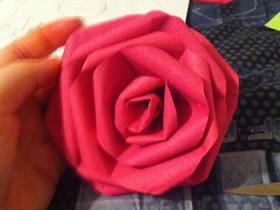 怎么做纸玫瑰花的手工制作教程简单又漂亮