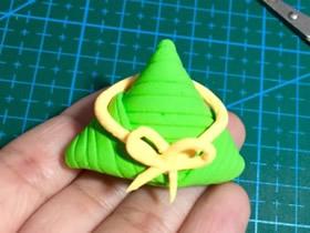 怎么简单做端午节粘土粽子的手工制作教程
