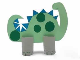 幼儿园怎么手工制作立体恐龙的方法教程