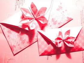 怎么折纸六瓣花信封的折法图解教程