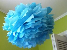 怎么做薄纸花球的手工制作方法教程