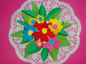 怎么用卡纸做教师节花盆礼物的手工制作教程