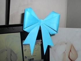 怎么手工折纸蝴蝶结的详细图解教程