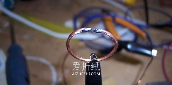 怎么用螺丝螺母做创意情侣对戒的制作方法- www.aizhezhi.com