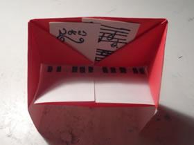 幼儿怎么简单折纸钢琴的折叠方法图解