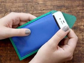 怎么用油布手工制作手机套的方法图解