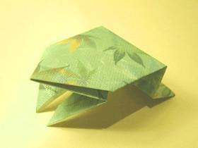 最简单小青蛙怎么折叠的方法教程