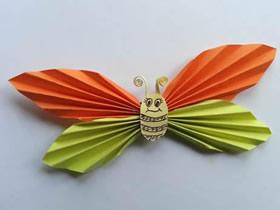 最简单纸蝴蝶怎么折叠的方法步骤图解