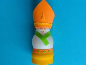 怎么用酸奶瓶做阿拉伯国王人偶的制作方法