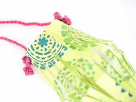 简单又可爱的中秋节纸灯笼怎么做的方法