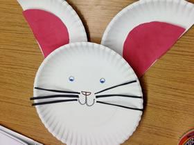 幼儿园怎么简单做中秋兔子的手工制作方法