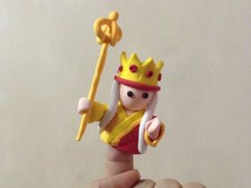 怎么做超轻粘土唐僧手偶玩具的制作方法