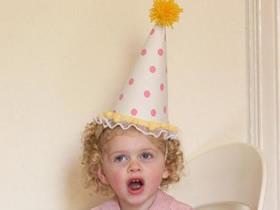 怎么简单做儿童派对帽的手工制作方法
