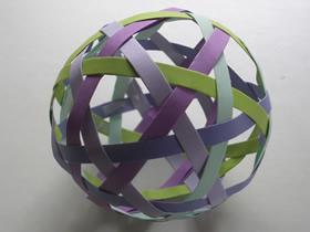 怎么做纸球的折法步骤图解