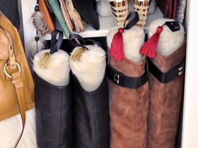 怎么用饮料瓶做冬天高筒靴鞋撑的制作方法