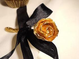 怎么做情人节锡箔纸玫瑰花的手工制作方法