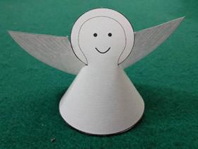 怎么做最简单圣诞节小天使的手工制作教程
