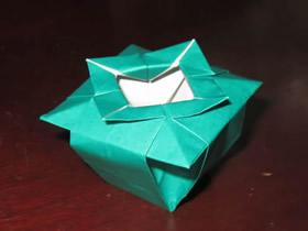 怎么折纸中国花瓶的折法详细步骤图解