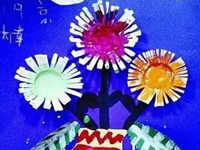 怎么做重阳节菊花装饰画礼物的制作方法