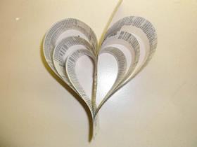 怎么做七夕情人节爱心挂饰的制作方法图解